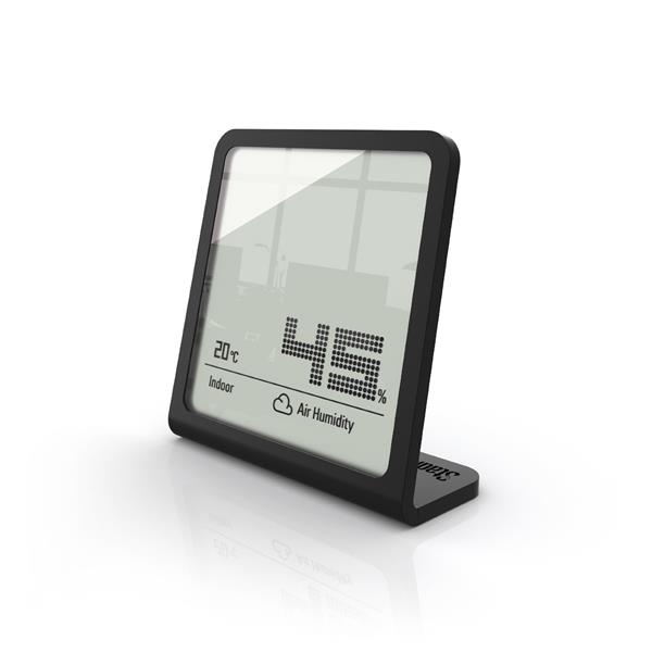 Stadler Form Selina Hygrometer - Humidity and Temperature - Black