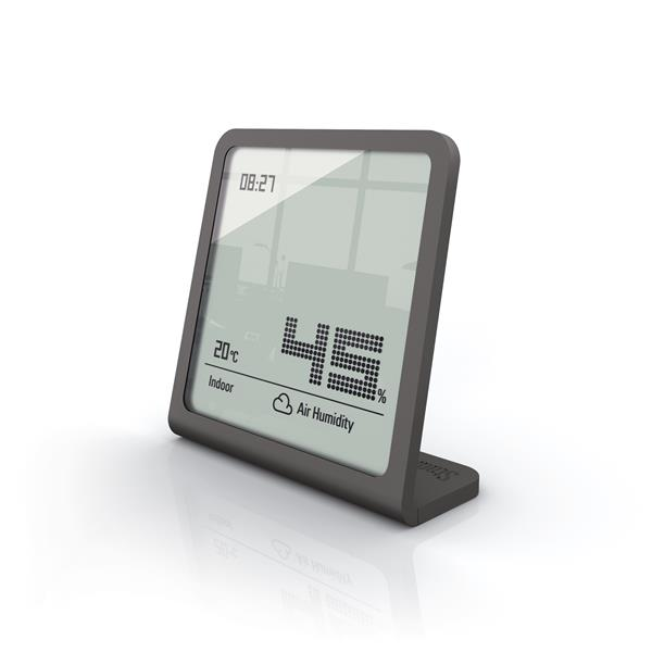 Stadler Form Selina Hygrometer - Humidity and Temperature - Grey