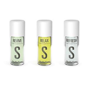 Ensemble de 3 huiles essentielles de Stadler Form