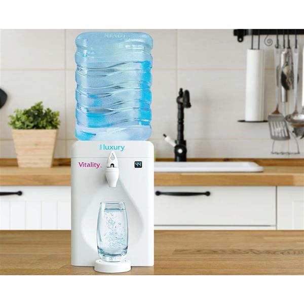 Little Luxury Vitality Mini Water Cooler - White