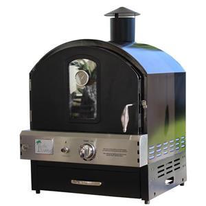 Four à pizza extérieur Pacific Living, gaz propane, noir