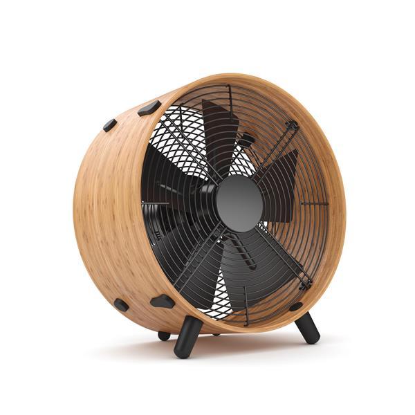 Stadler Form Otto Portable Fan - Bamboo