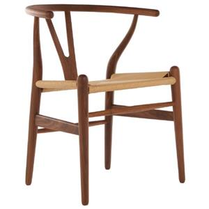 Plata Decor Woodcord Chair - Walnut and Natural