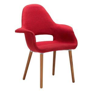 Plata Decor Organic Dining Chair - Red