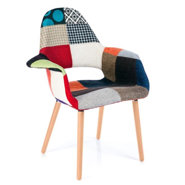 Plata Decor Hipster Accent & Dining Chair - Multicolor
