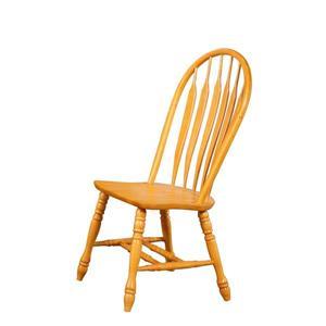 Chaise de salle à manger Oak Selections de Sunset Trading, 41 po x 20.5 po, chêne clair, ens. de 2