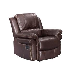 Sunset Trading Glorious Recliner - 36-in x 38-in - Rich Brown