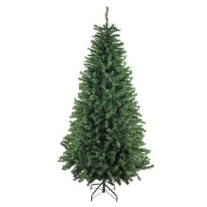 Darice  Canadian Pine Artificial Christmas Tree - 9-ft - Unlit