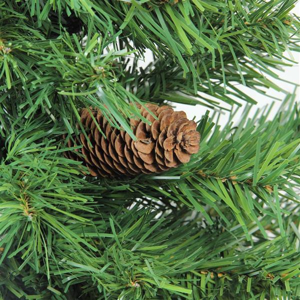 Northlight Dakota Red Pine Christmas Tree with Pine Cone - 7.5-ft x 56-in
