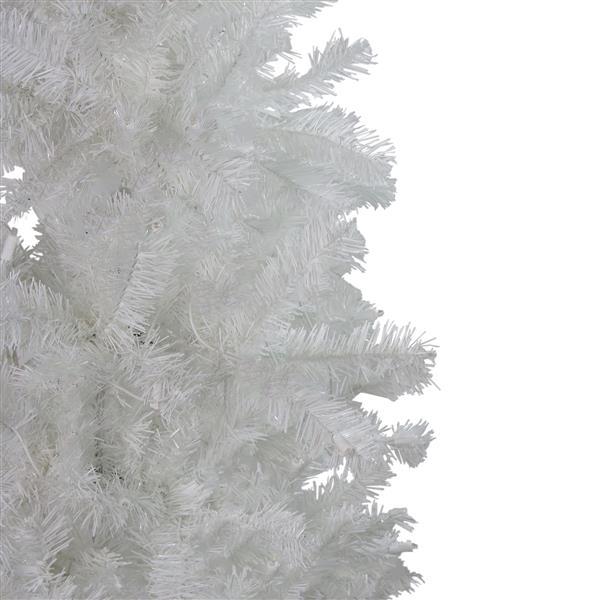 Northlight Winston Pine Slim Artificial Christmas Tree - 6.5-ft - White