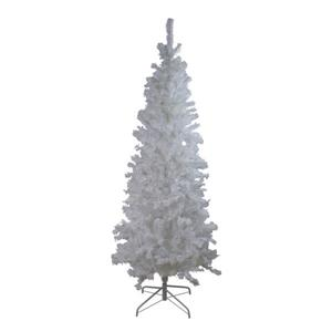 Northlight Winston Pine Slim Artificial Christmas Tree - 6.5-ft - White