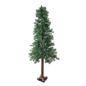 Northlight Woodland Alpine Artificial Christmas Tree - Mixed Green - 6-ft