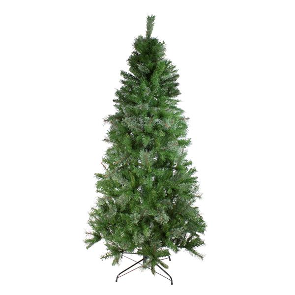 Northlight Pine Medium Artificial Christmas Tree - Mixed Cashmere - 7.5-ft