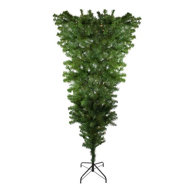 Northlight Upside Down Spruce Medium Christmas Tree - 7.5-ft x 60-in