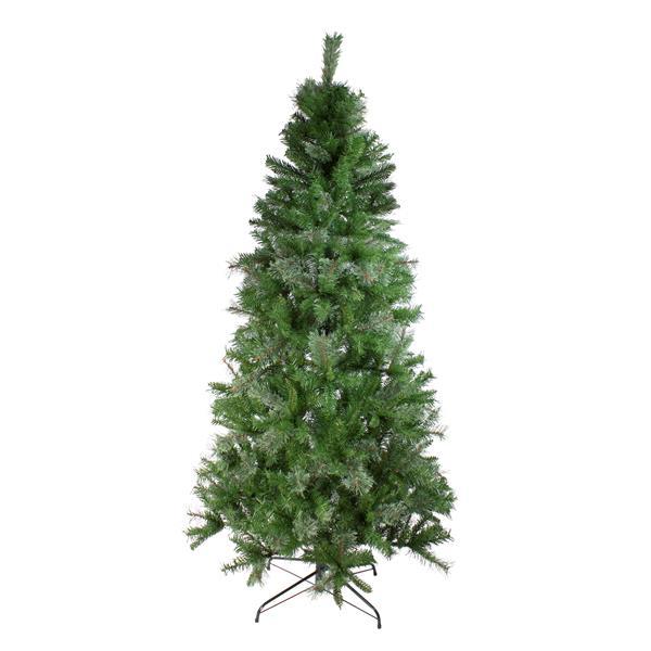 Northlight Pine Medium Artificial Christmas Tree - Mixed Cashmere - 6.5-ft