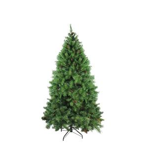 Northlight Red Pine Christmas Tree with Pine Cones - 6.50-ft x 50-in