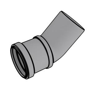 Rinnai  2-in Condensing 45° Vent Elbow - Plastic - 20/pack