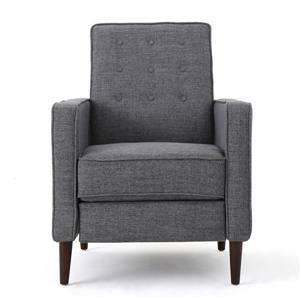 Best Selling Home Decor Madsion Modern Fabric Recliner - Gray