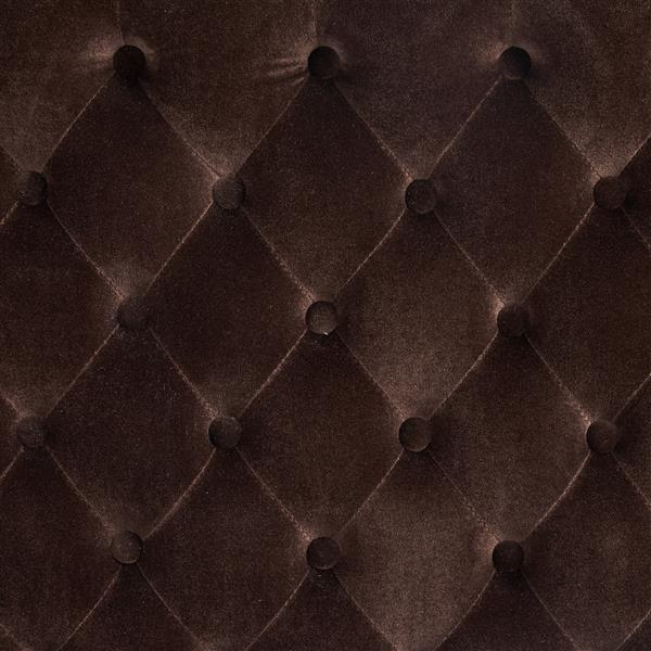 Best Selling Home Decor Rutherford Fabric Headboard - King/Cal King - Brown