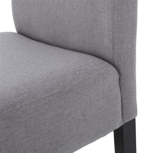 Best Selling Home Decor Fern Fabric Bar Stool - Gray - Set of 2