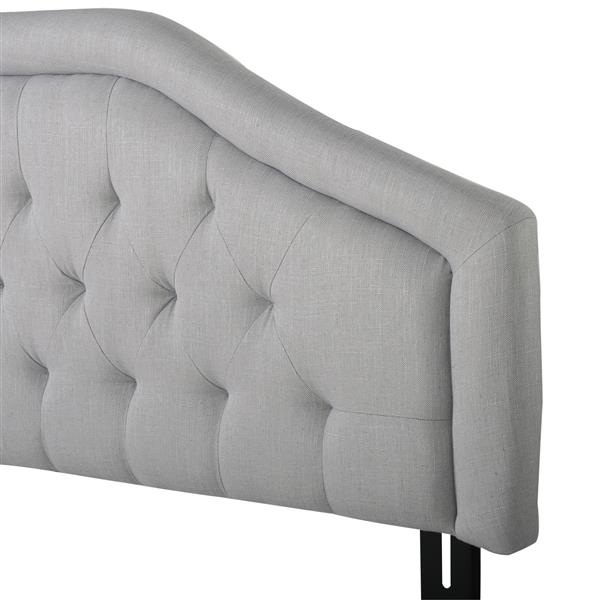 Best Selling Home Decor Felix Headboard - King/Cal King - Light Gray