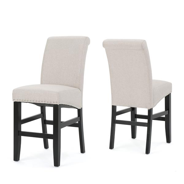 Best Selling Home Decor Lilith Counter Stool - White - Set of 2