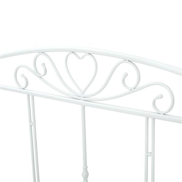 Best Selling Home Decor Bolton Classical Queen Bed Frame - White Iron