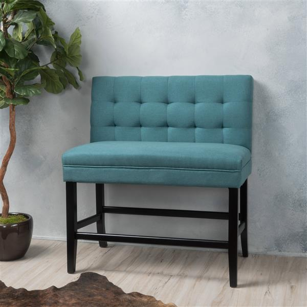 Best Selling Home Decor Samuel Fabric Counter Stool - Turquoise