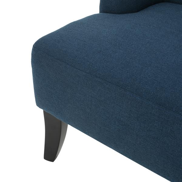Best Selling Home Decor Nicole Tufted Settee - Navy Blue