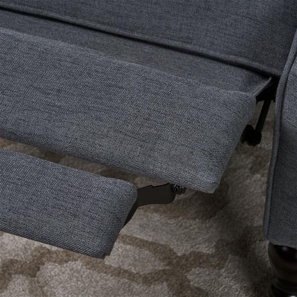 Best Selling Home Decor Estelle Fabric Recliner - Gray