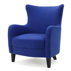 Fauteuil d'appoint en tissu Anne de Best Selling Home Decor, bleu royal