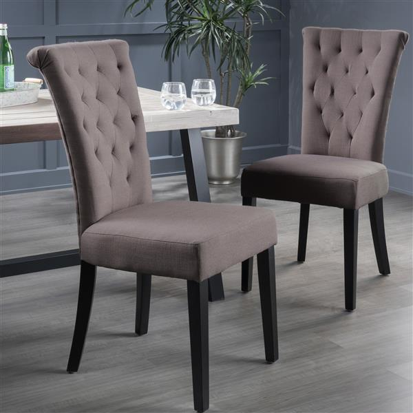 Best Selling Home Decor Madera Dining Chair - Brown - Set of 2