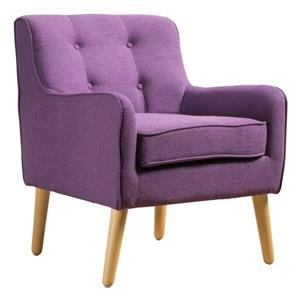 Fauteuil d'appoint Felicity de Best Selling Home Decor, mauve