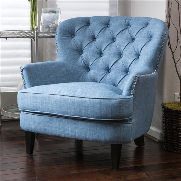 Best Selling Home Decor Tafton Accent Chair - Light Blue