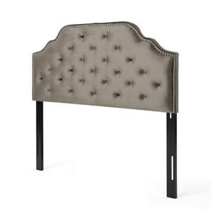 Tête de lit Topanga de Best Selling Home Decor, double ou grand lit, gris