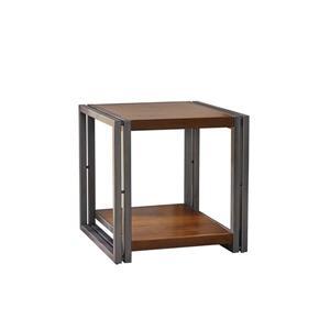 Table d'appoint Cassie de Best Selling Home Decor, 24 po x 24,5 po, placage de chêne