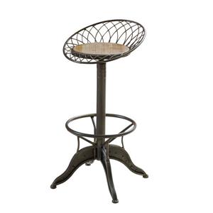 Tabouret en bois rustique Alice de Best Selling Home Decor, brun