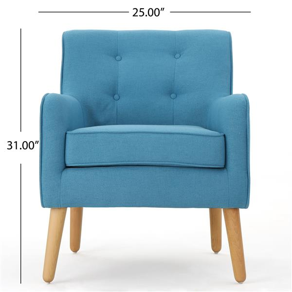 Best Selling Home Decor Felicity Mid Century Accent Chair - Teal