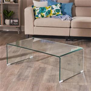 Table basse en verre trempé Dione de Best Selling Home Decor