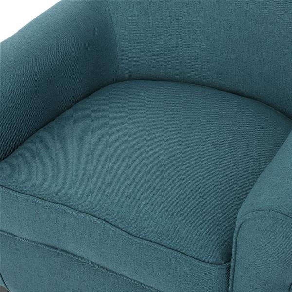 Best Selling Home Decor Roseville Fabric Accent Chair - Dark Teal