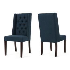 Best Selling Home Decor Pensacola Fabric Dining Chair - Blue - Set of 2