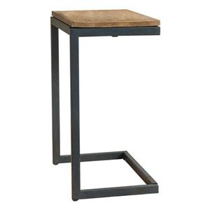 Best Selling Home Decor Joyce Antique Side Table - 18.25-in x 25.5-in - Black