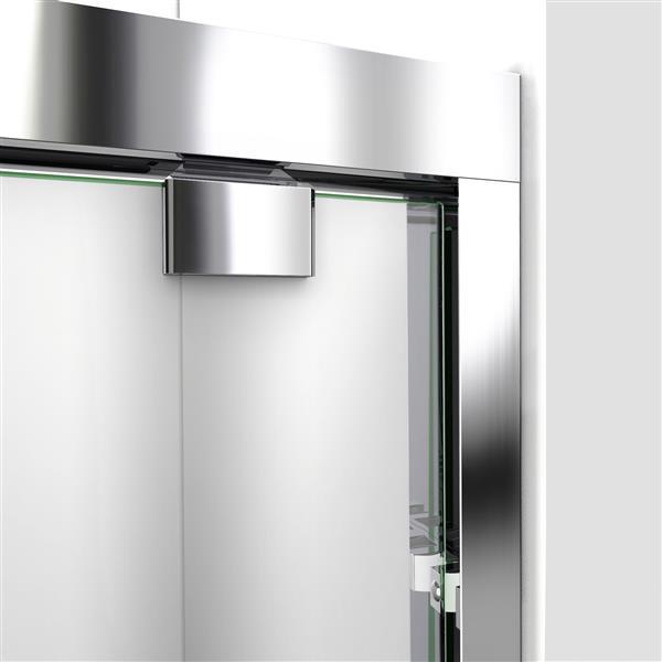 DreamLine Encore Alcove Shower Kit - 32-in x 60-in - Acrylic Base- Chrome