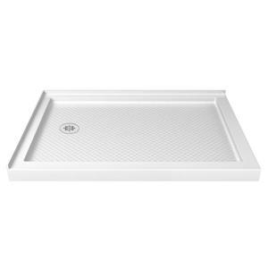 Base de douche rectangulaire SlimLine de DreamLine, 36 po x 54 po, blanc
