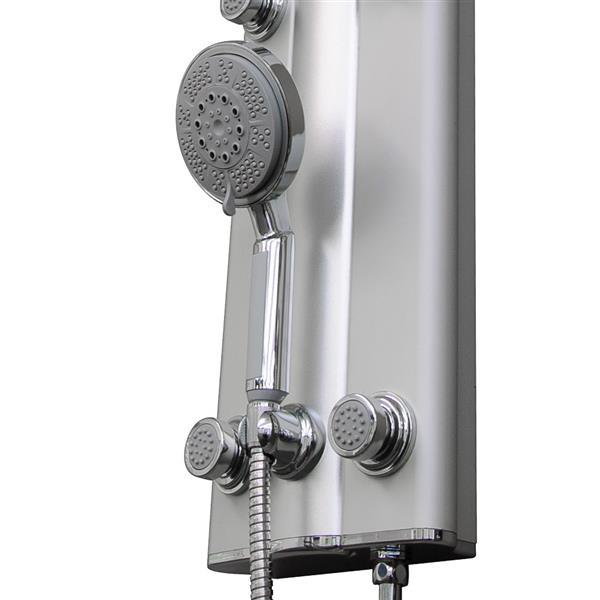 DreamLine Unidoor Shower Door - 30-31-in x 72-in - Chrome
