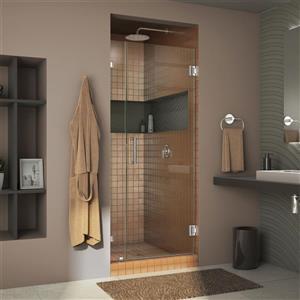 DreamLine Unidoor Lux Shower Door - 32-in x 72-in - Chrome