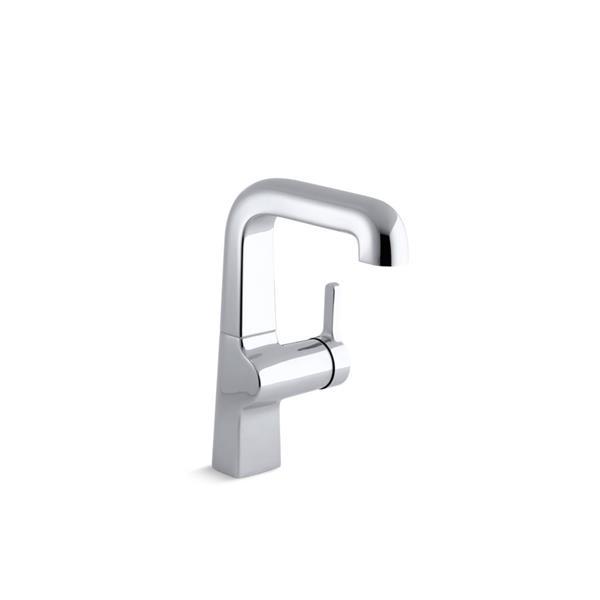 KOHLER Evoke single-hole bar sink faucet - Polished Chrome