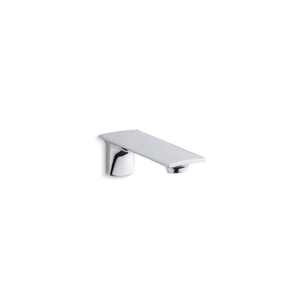 KOHLER Stance wall mount 7 7/8-in bath spout - Polisehd Chrome