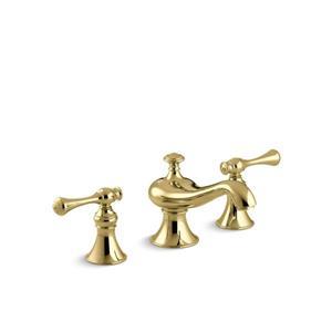 Robinet de lavabo de salle de bain déployé Revival de KOHLER, cuivre poli
