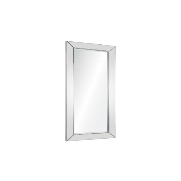 Plata Decor Tipton II  Mirror - Silver - 47-in x 35-in